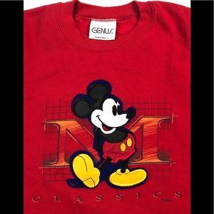 Disney Sweaters - DISNEY MICKEY MOUSE SWEATSHIRT LARGE L CREWNECK